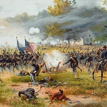 American Civil War, Battle of Antietam, deadliest one-day fight. by TOMSREDBUBBLE