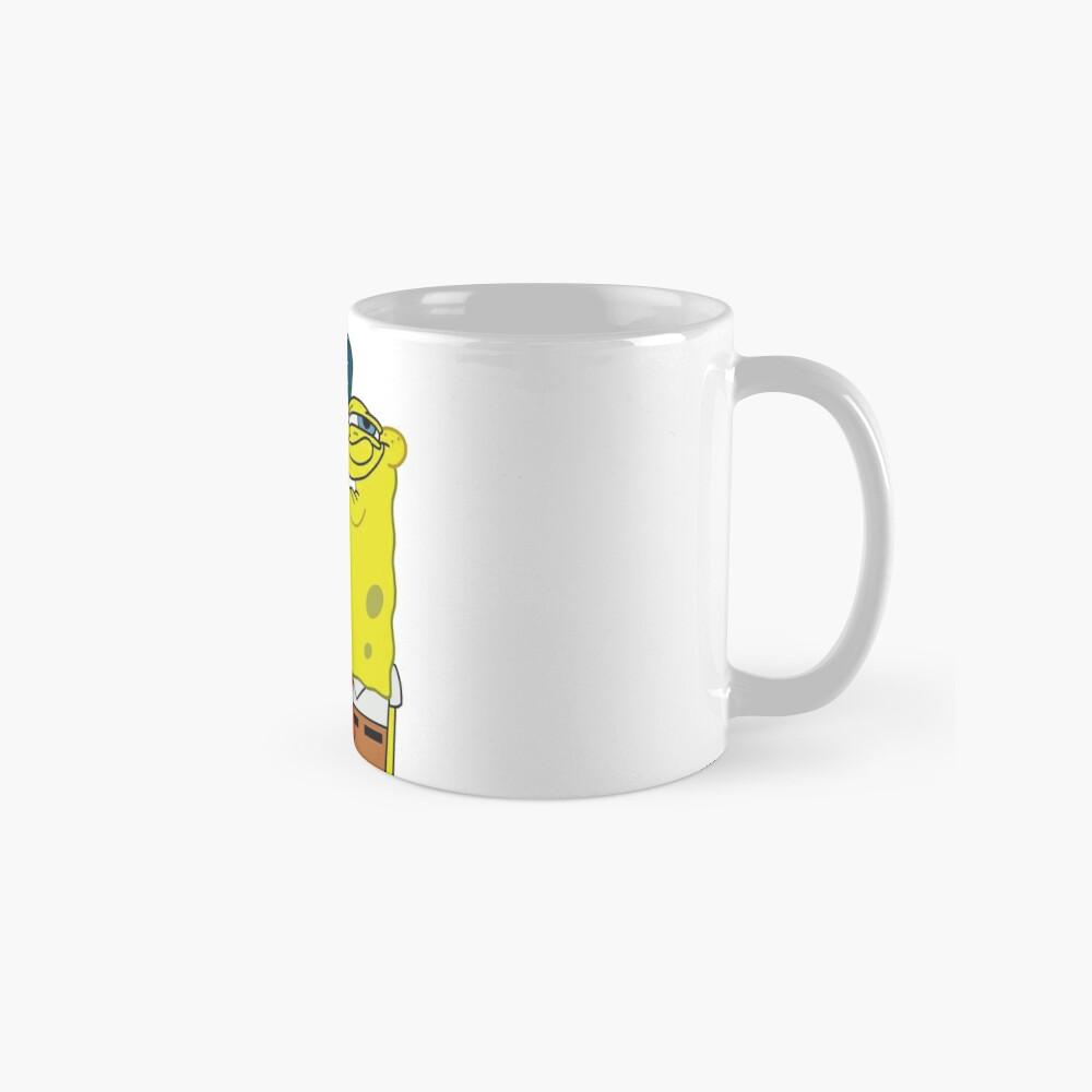 Grinning Spongebob - Funny Spongebob Meme Shirt Mug