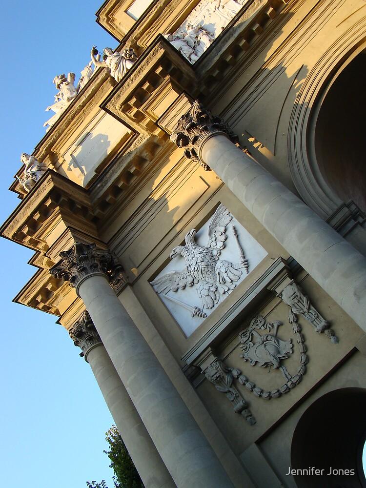 Florence Italy Arch by Jennifer Jones