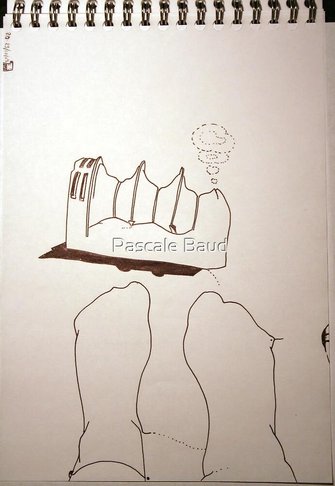 Petits Dessins Debiles - Small Weak Drawings#38 by Pascale Baud