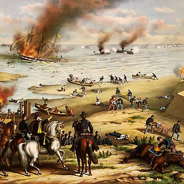 American Civil War, Sea Battle of Antietam, deadliest one-day fight. by TOMSREDBUBBLE
