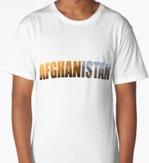 Afghanistan 3 Long T-Shirt