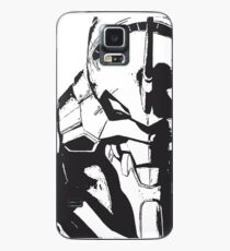 Evangelion Unit-01 Black and White Case/Skin for Samsung Galaxy