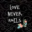 Love Never Fails by Scott Mitchell