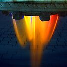 Mulholland Fountain by Clayton Bruster