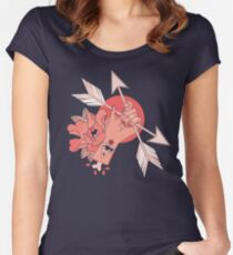 An Arrow in the Hand Women's Fitted Scoop T-Shirt