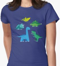 Dinosaurs Women's Fitted T-Shirt