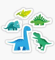 Pegatina Dinosaurios