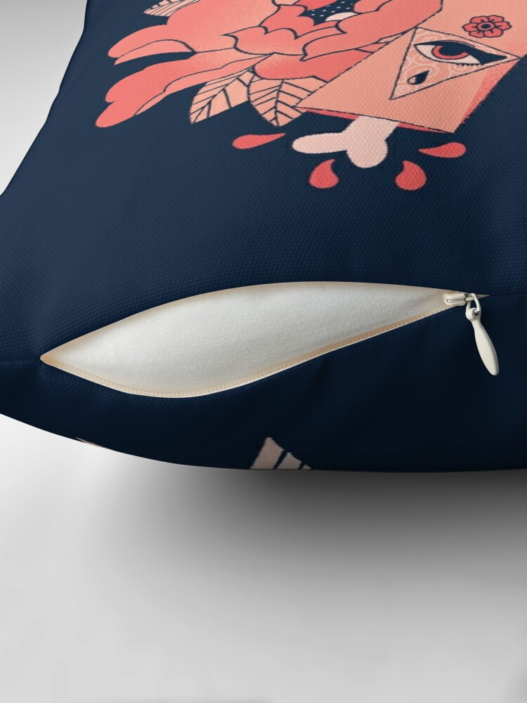 Alternate view of An Arrow in the Hand Throw Pillow
