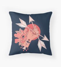An Arrow in the Hand Throw Pillow