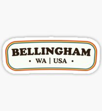 Bellingham | Retro Badge Sticker
