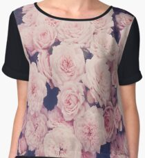Roses Women's Chiffon Top
