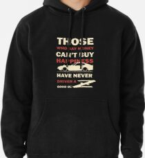 Happiness in a Datsun Z Pullover Hoodie