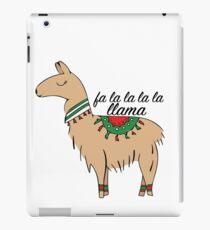 Vinilo o funda para iPad Fa La La La Llama