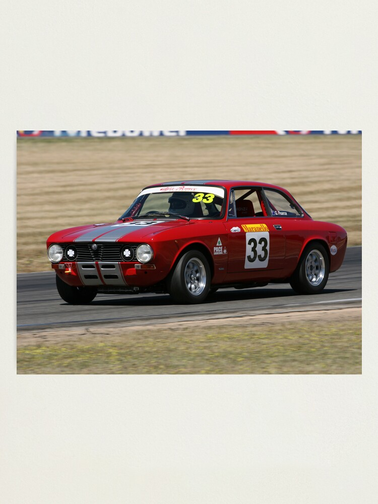 Alternate view of Red racer II Photographic Print