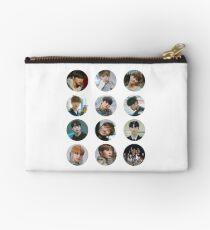 Wanna One - Beautiful 12 stickers  Studio Pouch