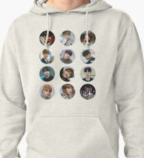 Wanna One - Beautiful 12 stickers  Pullover Hoodie