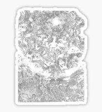 Berserk - Godhand eclipse  Sticker