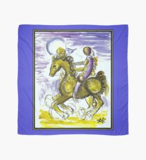 MASTER and HORSE : Vintage Abstract Fantasy Print Scarf