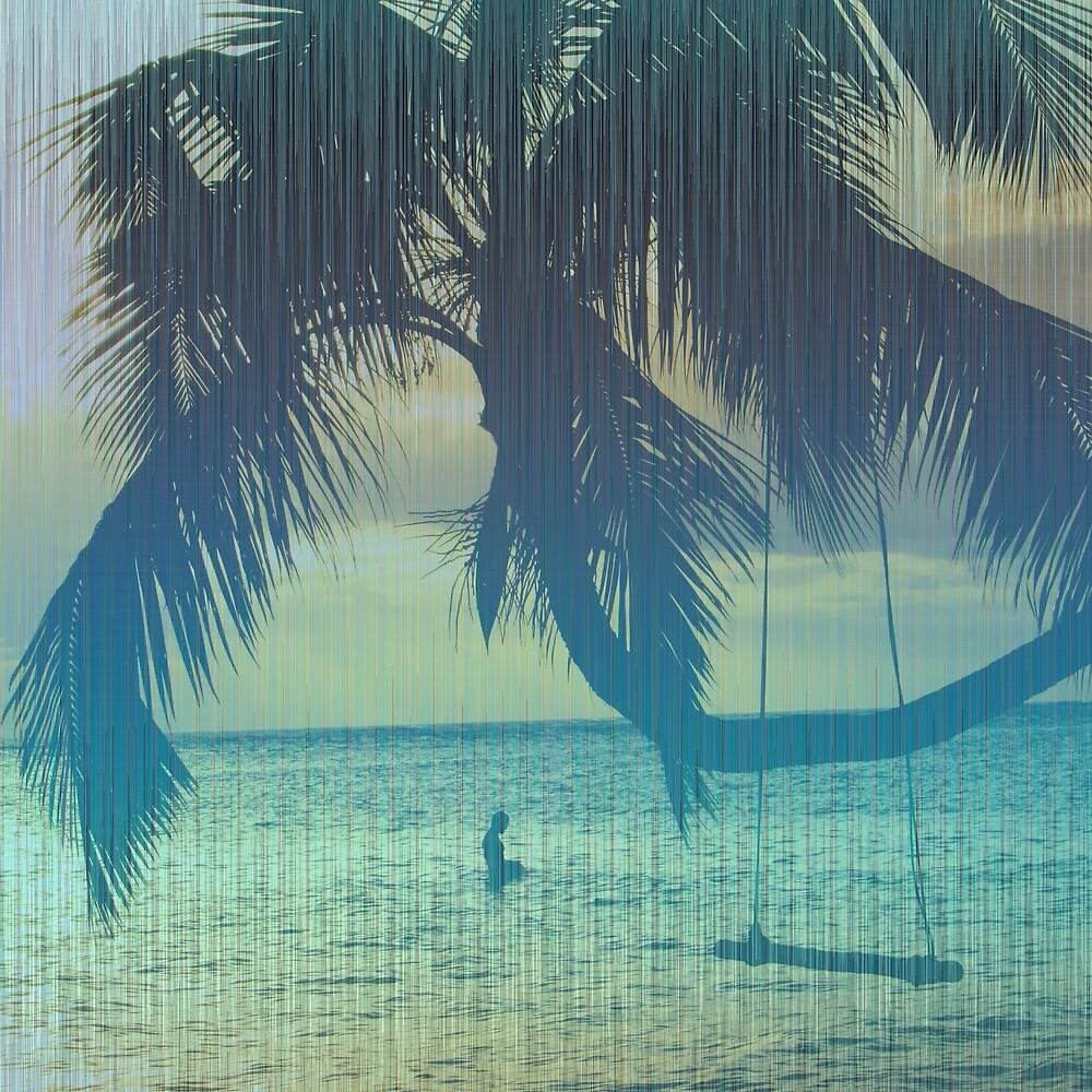 Tropical beach by LoraSi