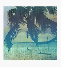 Tropical beach Photographic Print
