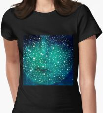 Moon Childs Lullaby  Womens Fitted T-Shirt