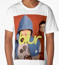 Camiseta larga blur