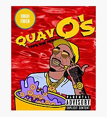 QuavO's Cereal (RED) Photographic Print