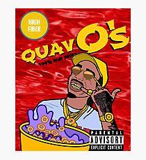 QuavO's Cereal (RED) Photographic Print