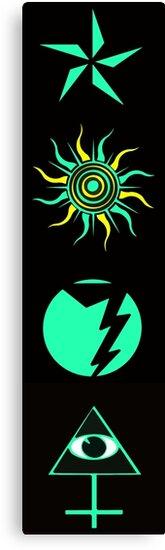 STAR SUN LIGHTNING MAN 37 by MARTYMAGUS1