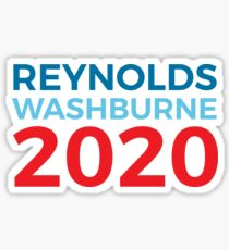 Malcolm Reynolds Zoe Washburne 2020 / Firefly Sticker