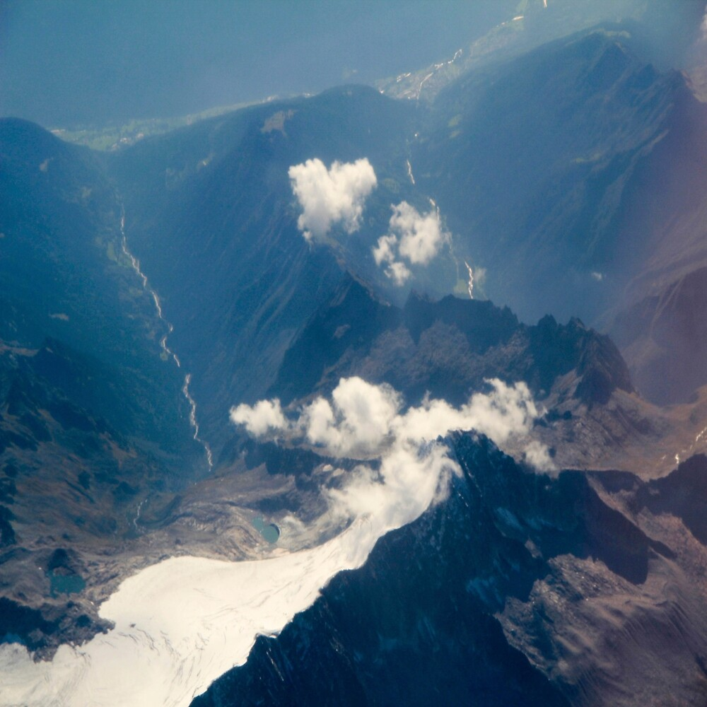 Alps from the plane 2 by LoraSi