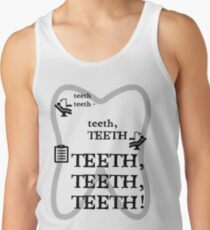 TEETH TEETH TEETH - full tweet version Tank Top