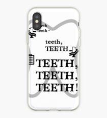 TEETH TEETH TEETH - full tweet version iPhone Case