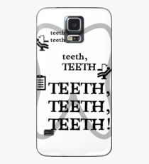 TEETH TEETH TEETH - full tweet version Case/Skin for Samsung Galaxy