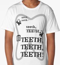 TEETH TEETH TEETH - full tweet version Long T-Shirt