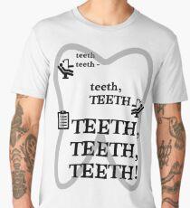 TEETH TEETH TEETH - full tweet version Men's Premium T-Shirt