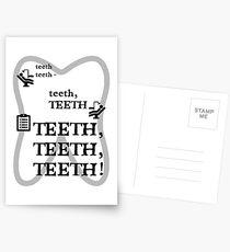 TEETH TEETH TEETH - full tweet version Postcards