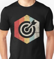 Retro 70s Bow Archery Icon Unisex T-Shirt