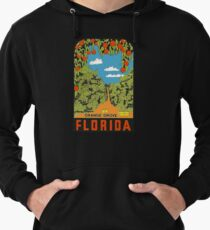 Vintage Florida Travel decal Lightweight Hoodie