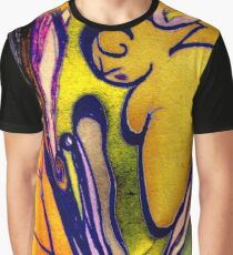 Stained Glass Glow Graphic T-Shirt