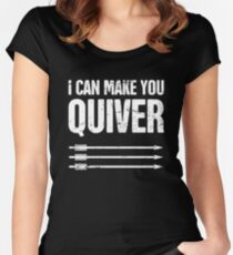 I Can Make You Quiver – Archery Women's Fitted Scoop T-Shirt