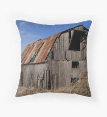 Countryside barn Throw Pillow