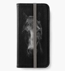 Black Horse iPhone Wallet/Case/Skin