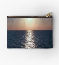 Santorini sunset Zipper Pouch