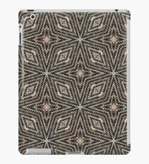 Sweater Weather - A Knit Kaleidoscope Star Pattern - Holiday Season Inspired  iPad Case/Skin