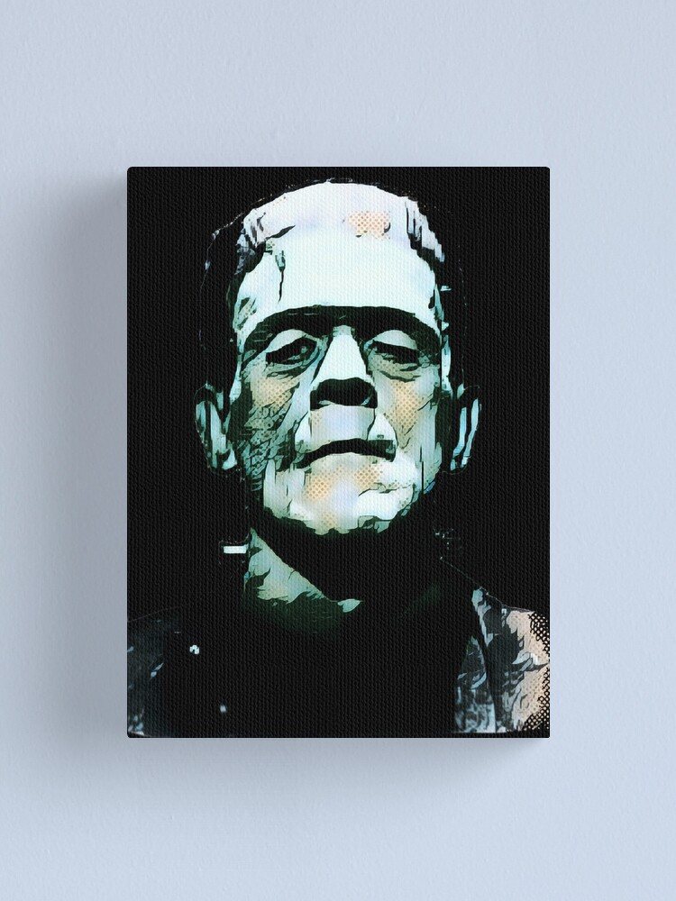 Alternate view of Frankenstein Canvas Print