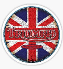 Vintage british motorcycle Sticker