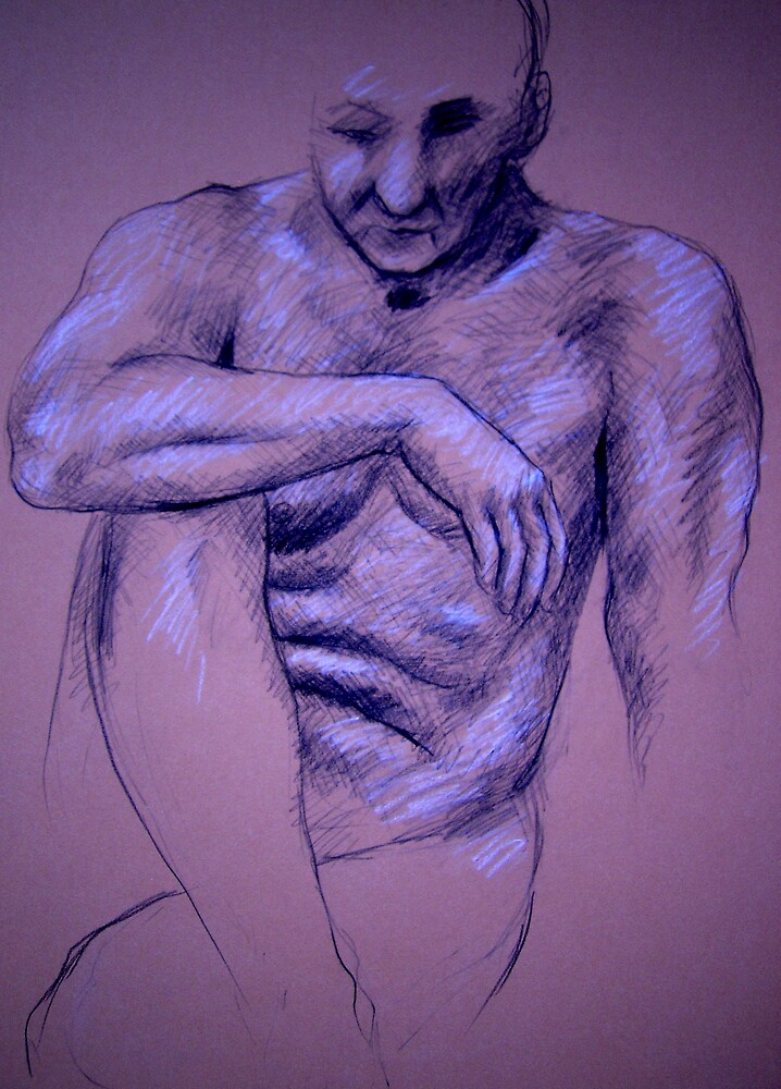 Life drawing of Earl by Bill Proctor