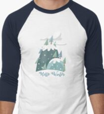 Hello Winter.Christmas.New Year.Gifts.Kids. Family T-Shirt